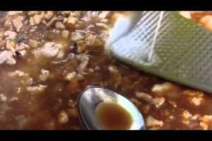 肉味噌麺レシピ
