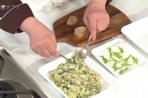 【料理サプリ】 女子会にぴったりレシピ!<じゃがいも、ベーコン、水菜のカナッペ>