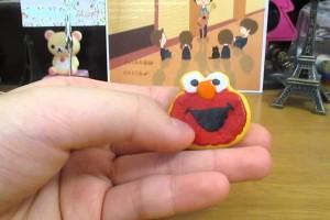 「にゃんころ」スイーツデコ マイメロ&エルモクッキーの作り方