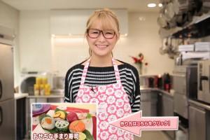 ギャル曽根のダイエットレシピ おせちな手まり寿司