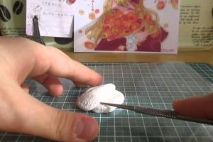 「にゃんころ」スイーツデコ カップケーキのブローチの作り方