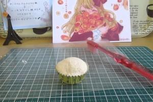 「にゃんころ」スイーツデコ ネコさんカップケーキの作り方