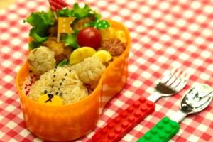 キャラ弁レシピ:くまのがっこう ジャッキーの作り方 Bears school bento(kyaraben) recipe