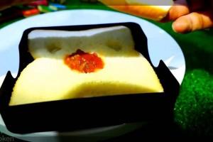 【食パンでキャラ弁】食パンダ