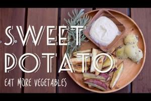 焼き野菜にぴったりの豆腐ディップと甘くて美味しいスイートポテトサラダの作り方 | EAT MORE VEGETABLES