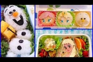 【凄い】アナと雪の女王のキャラ弁が凄すぎる!食べるには惜しい!こんなお弁当子供にいかが?
