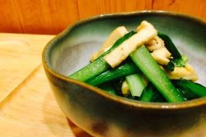 【小松菜の炒め煮】 簡単すぎるレシピ