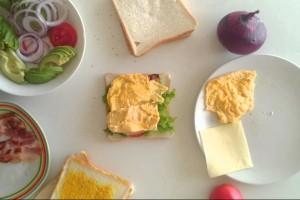 美味しいBLTサンドイッチ【サンドイッチ】