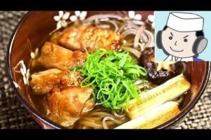 鶏南蛮そば♪  Chicken Nanban Soba Noodle♪