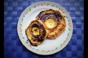 Fu recipe French toast かんたん車麩レシピ ふっわふわモッチリ!車麩でフレンチトースト