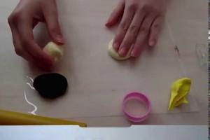 スイーツデコ「チョコパイ作り方」how to make  fake Chocolate pie♪