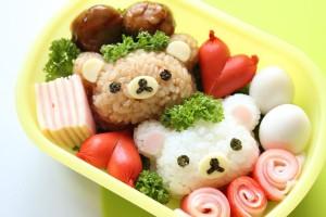 キャラ弁【1】 リラックマ弁当の作り方 How to Make Rilakkuma Bento