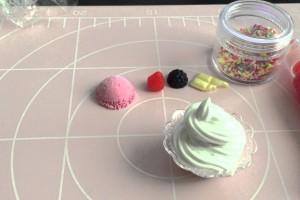 マロマロ スイーツデコ 100円ショップの材料でパフェ I made parfait with the materials of the 100-yen shop