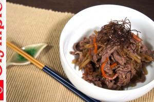 オリンピックの超簡単レシピ ★お惣菜リメイクシリーズ  きんぴら牛肉の作り方