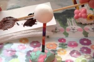 スイーツデコ♡ケーキポップスの作り方
