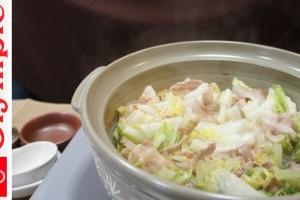 オリンピックの超簡単レシピ 白菜と豚肉のミルフィーユ鍋の作り方 ★白菜大量消費♪ほんだしで簡単!