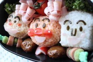 キャラ弁【4】 アンパンマン弁当の作り方 How to Make Anpanman Bento