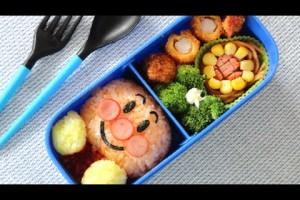 Anpanman Bento lunch box Recipeキャラ弁アンパンマンの作り方(レシピ)