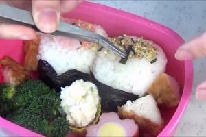 Hinamatsuri Bento Lunch Box (Doll Festival) ひな祭り キャラ弁 作り方 レシピ