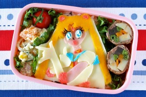 Sailor Moon Bento Lunch Box (Kyaraben) セーラームーン弁当の作り方 (キャラ弁) – OCHIKERON – CREATE EAT HAPPY