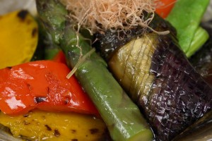 Summer Vegetable Yakibitashi 夏野菜の焼き浸し 作り方レシピ