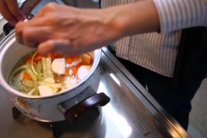 時短すぎる時短レシピ「野菜スープ」(プTV)