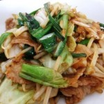 Vegetable stir-frying recipe ニラたっぷりの野菜炒めのレシピ・作り方