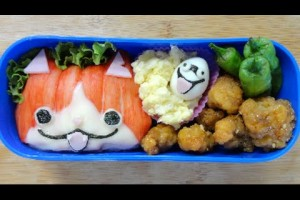 Yokai Watch Bento Lunch Box(Kyaraben)Recipe妖怪ウォッチ キャラ弁 作り方 レシピ